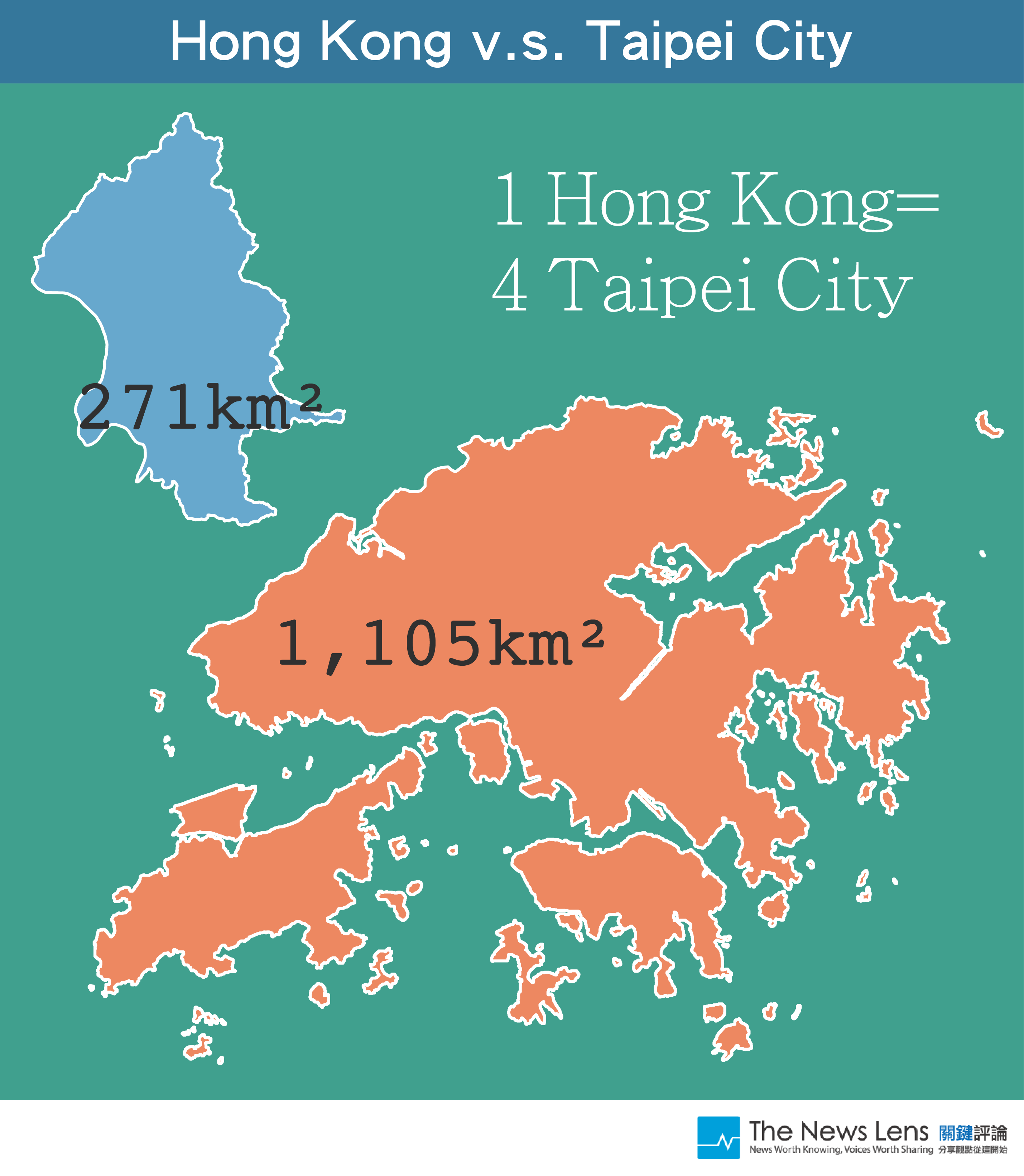 11 diagrams how big are the major cities in asia the news lens sources gadm wikipedia hong kong gumiabroncs Choice Image